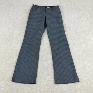 Riders By Lee Dress Pants Womens 6M Gray Bootcut